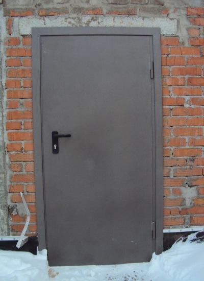 стальные двери без отделки для подвальных помещений